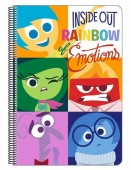Caderno A4 Inside Out Emotions