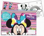 Caderno A4 Minnie + Autocolantes