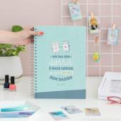 Caderno A4 Um dia Sem Sorrir... Mr Wonderful