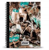 Caderno A5 21 cm Liga da Justiça DC Comics
