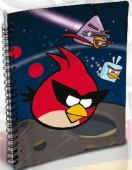 Caderno A5 Angry Birds Space