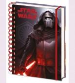 Caderno A5 Argolas Kylo Star Wars