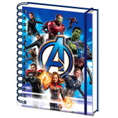 Caderno A5 Avengers Endgame