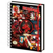 Caderno A5 Deadpool