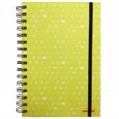 Caderno A5 Emoji - Amarelo