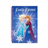 Caderno A5 espiral Frozen
