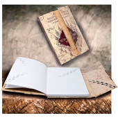 Caderno A5 Mapa Marauders Harry Potter