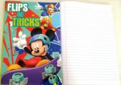 Caderno A5 Mickey Lets Skate