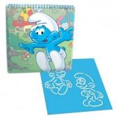 Caderno actividades dos Smurfs