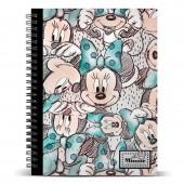 Caderno argolas Minnie Disney A4 - Drawing