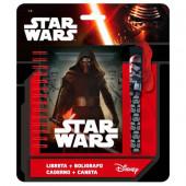 Caderno + Caneta Star Wars