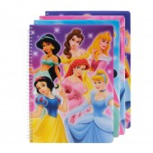Caderno espiral Princesas Disney - Sortido