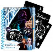 Caderno Mágico Frozen 2 Disney