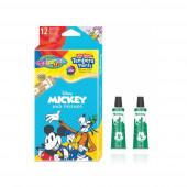 Caixa 12 Cores Guaches Mickey Colorino