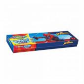 Caixa 12 Cores Pintura Spiderman Colorino
