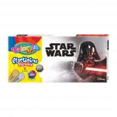 Caixa 12 Cores Plasticina Star Wars Colorino