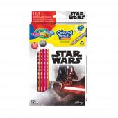 Caixa 12 Lápis + 1 Cor Star Wars Colorino