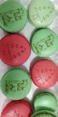Caixa 12 Macarons Natal
