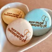 Caixa 12 Macarons Personalizados