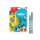 Caixa 12 Marcadores Cónicos Mickey Colorino