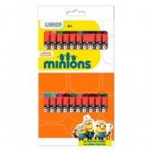 Caixa 24 lápis de cera Minions