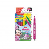 Caixa 6 Marcadores Glitter Minnie Colorino