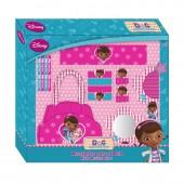 Caixa Acessórios Cabelo + Malinha Doutora Brinquedos