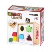 Caixa actividades madeira Play & Learn