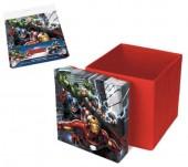 Caixa Arrumação Banco Marvel Avengers