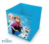 Caixa arrumação cubo de Frozen
