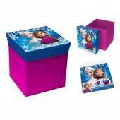 Caixa arrumação + Puff Disney Frozen