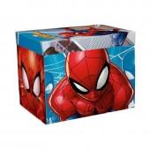 Caixa Arrumação Spiderman c/ Tapete