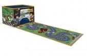 Caixa arrumação + tapete de jogos  Mickey Races