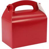Caixa Brindes Vermelha