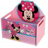Caixa guarda Brinquedos Minnie Disney