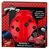 Caixa joaninha maquilhagem Ladybug