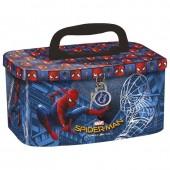 Caixa metálica com pega Spiderman