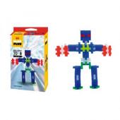 Caixa Plus-Plus Neon Robot 70 Peças