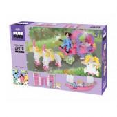 Caixa Plus-Plus Princesas Pastel 3 em 1 - 480 Peças