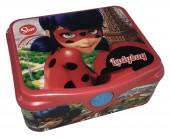 Caixa quadrada sanduicheira Ladybug