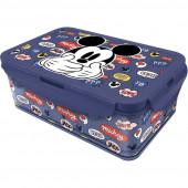 Caixa Recipiente Compartimentos Removíveis Mickey 1190ml
