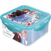 Caixa Recipiente Quadrado Frozen 2 - 730ml