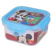 Caixa Recipiente Quadrado Mickey 290ml
