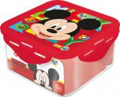 Caixa Recipiente Quadrado Mickey 730ml