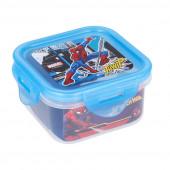 Caixa Recipiente Quadrado Spiderman 290ml