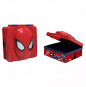 Caixa Sanduicheira 3D Spiderman Marvel