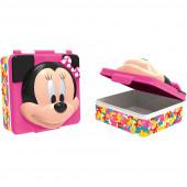 Caixa Sanduicheira Minnie 3D Disney