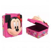 Caixa Sanduicheira Minnie 3D