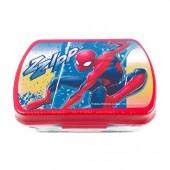 Caixa sanduicheira rectangular Spiderman