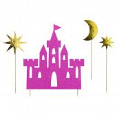 Cake Toppers Castelo Princesas